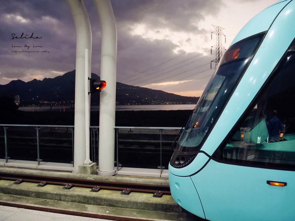 淡海輕軌藍海線通車必買一日票優惠淡水旅行景點推薦