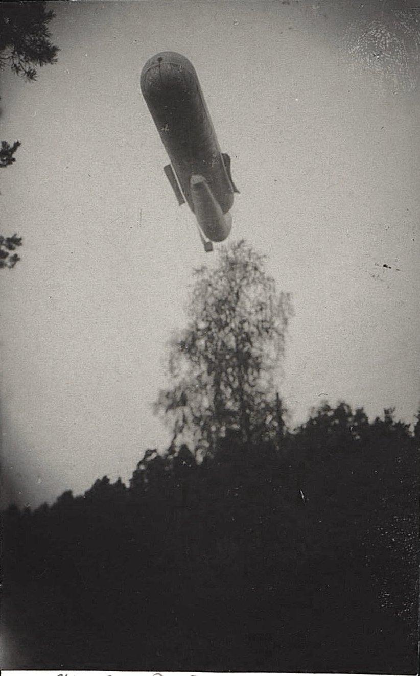 1916. Подъём аэростата (4)