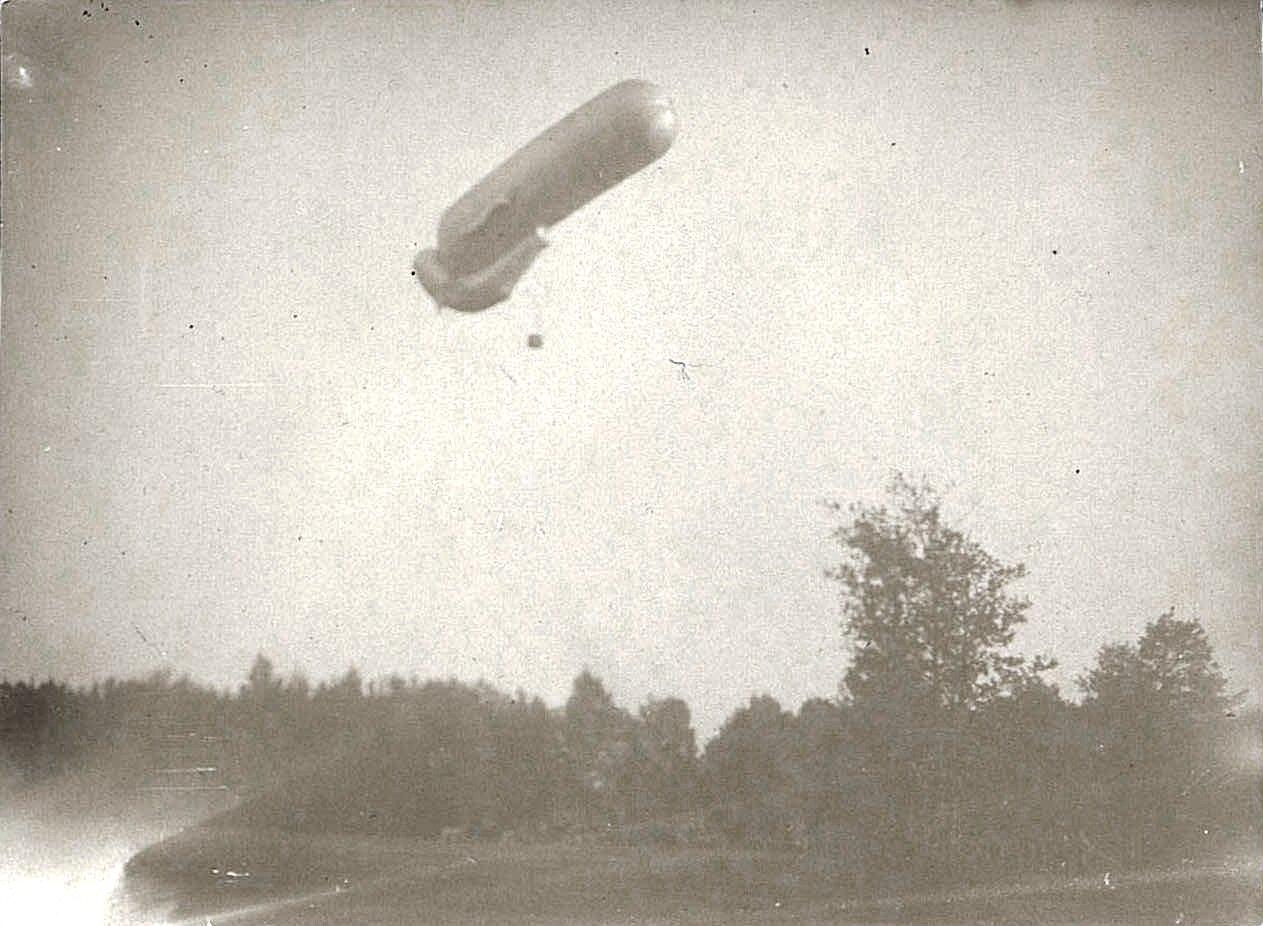 1916. Подъём аэростата (3)