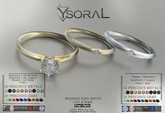 ~~ Ysoral ~~ .:Luxe Wedding Ring Tom & Diana:.(BENTO)