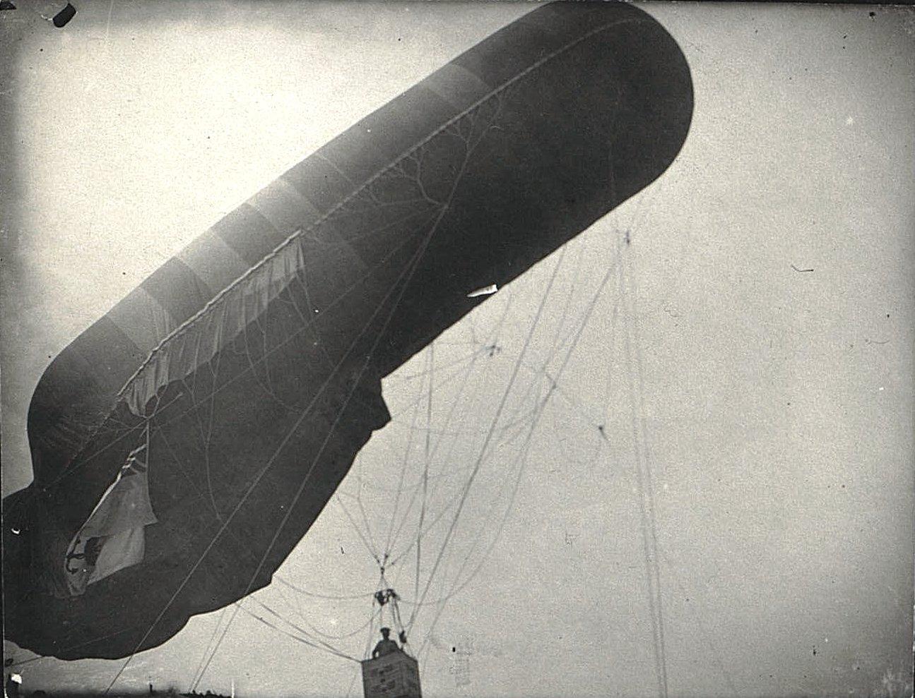 1916. Подъём аэростата (2)