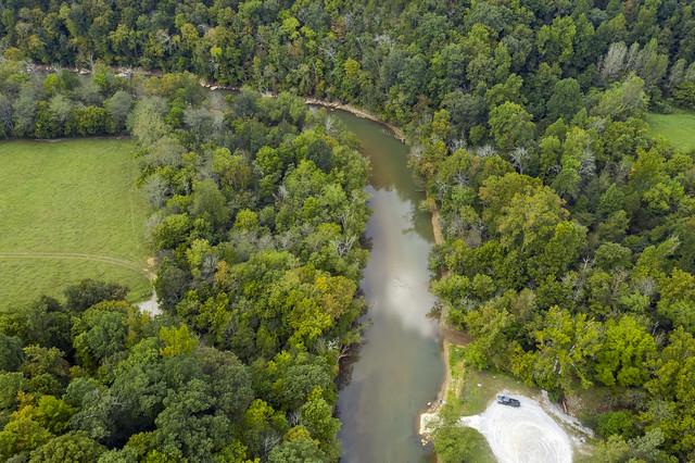 Green Brier region, Wolf River, Pickett County, Tennessee
