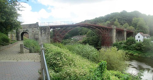 The Bridge at Ironbridge, Reverse View