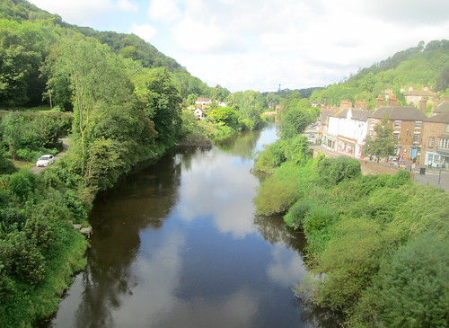 Reverse View River Severn from the Ironbridge