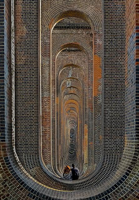 Gazing through the arches - Explored