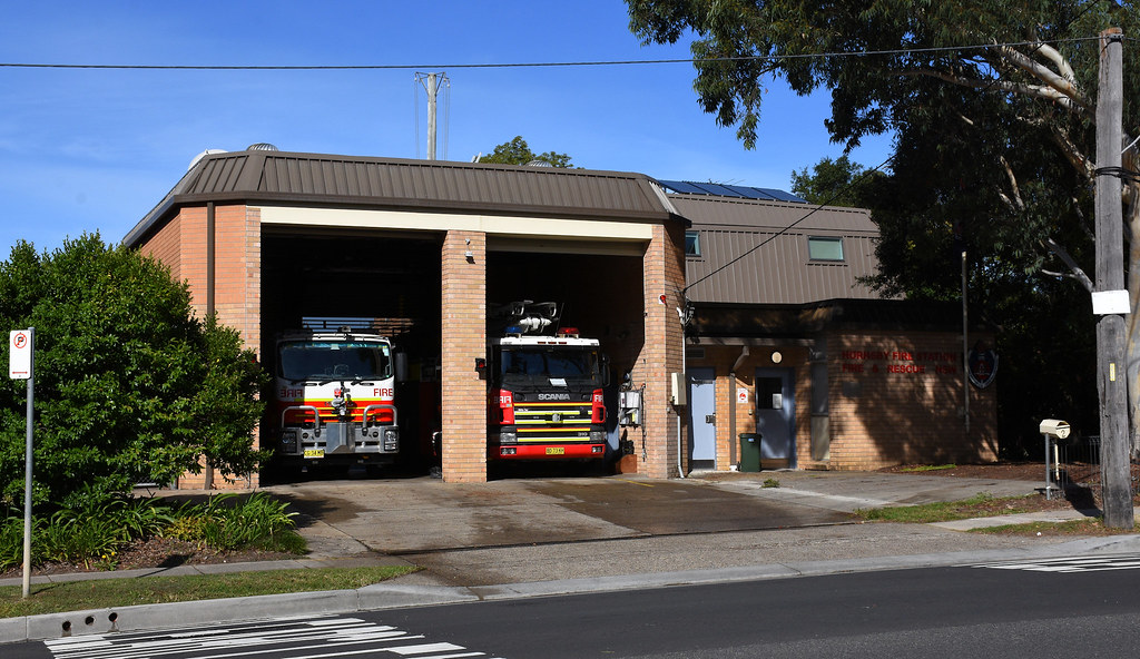 Fire Station, Hornsby, Sydney, NSW.