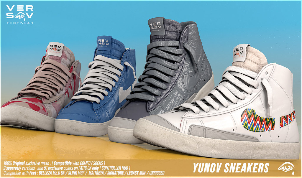 [ Versov // ] YUNOV sneakers available at TMD