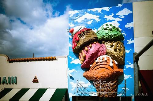Miami mood - ice cream