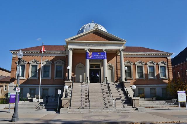 Carnegie Building, Wilfred Laurier University, 73 George Street, Brantford, ON
