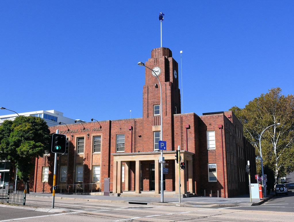 Town Hall, Rockdale, Sydney, NSW.