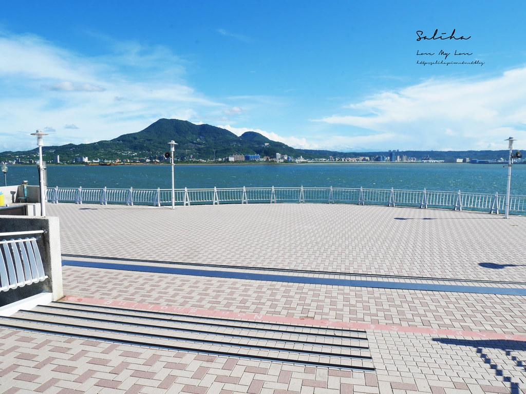 淡海輕軌藍海線景點通車淡水一日遊好玩推薦必玩必拍ig景點漁人碼頭絕美風景 (2)