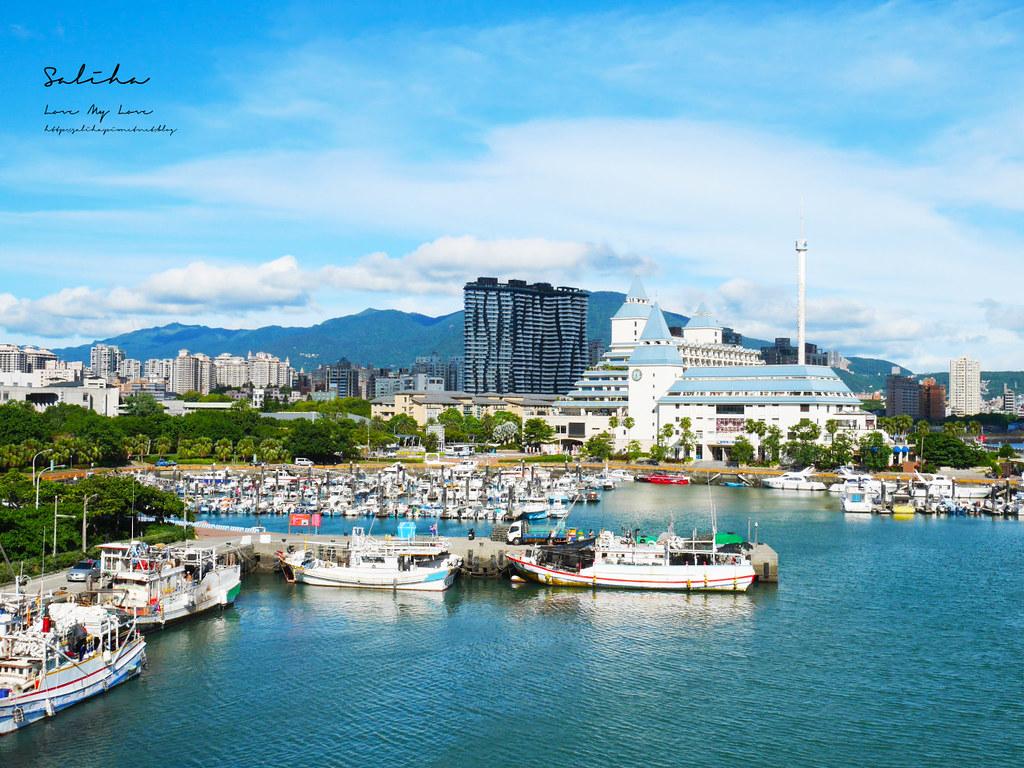 淡海輕軌藍海線景點通車淡水一日遊好玩推薦必玩必拍ig景點漁人碼頭絕美風景 (1)