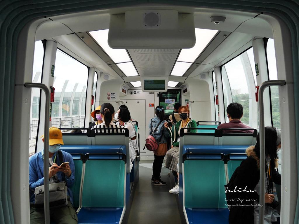 淡海輕軌怎麼搭藍海線綠山線淡水一日遊親子旅行