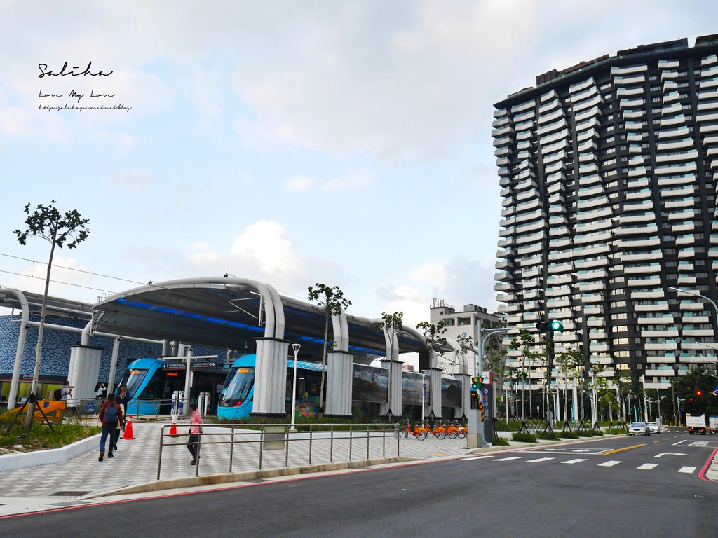 淡海輕軌藍海線漁人碼頭站淡水一日遊景點行程推薦