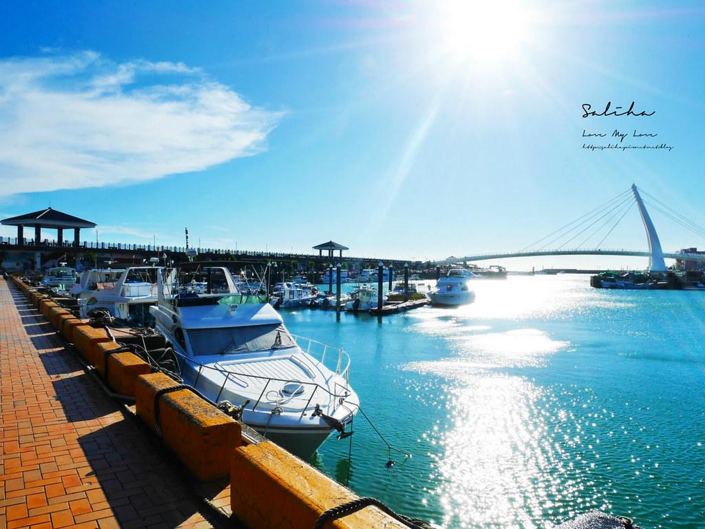 淡海輕軌藍海線景點通車淡水一日遊好玩推薦必玩必拍ig景點漁人碼頭絕美風景 (4)