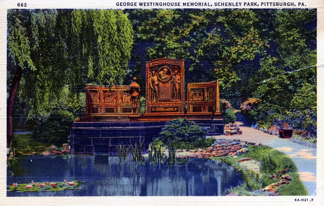 George Westinghouse Memorial Schenley Park Pittsburgh PA
