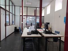 Zona de ordenadores del Centro de Empleo.