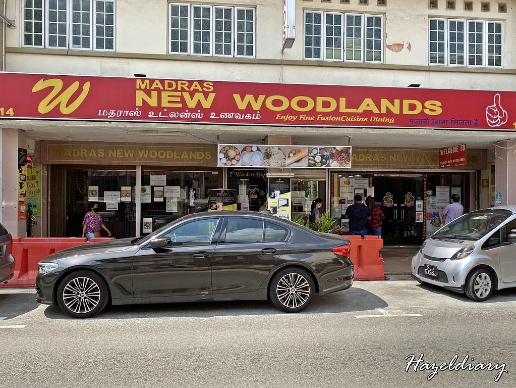 Madras New Woodlands Restaurant -Upeer Dickson Road