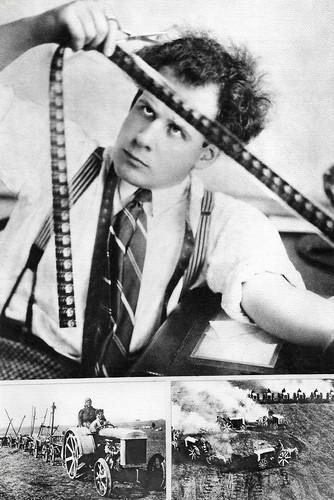 Sergei Eisenstein editing October (1928)