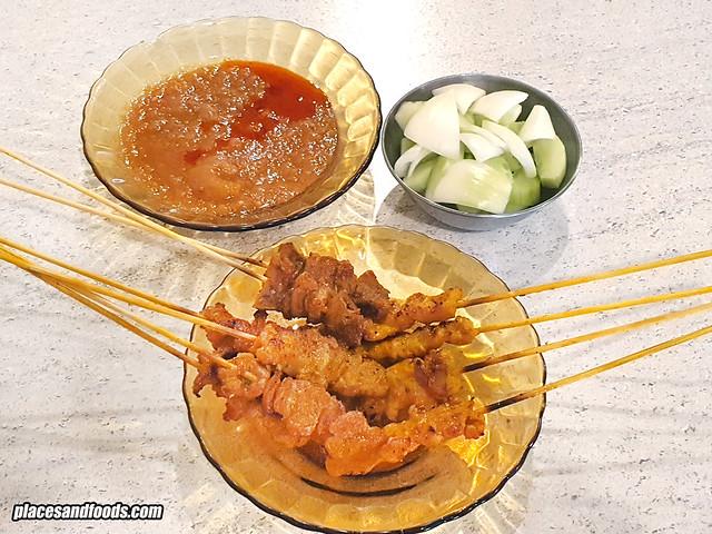 ming satay melaka pork satay