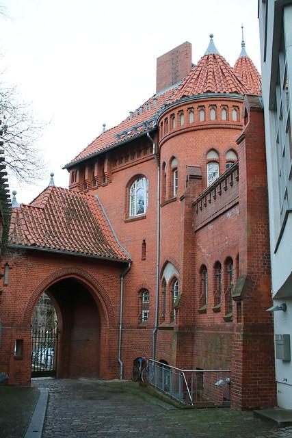 Berlin: Viktoria-Quartier auf dem ehemaligen Gelände der Schultheiss-Brauerei in Kreuzberg - Sixtus-Villa