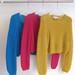 La Boutique Extraordinaire - Lola Bon'Heure - Pulls courts mohair & soie tricotés main - 240 €