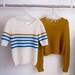 La Boutique Extraordinaire - Lola Bon'Heure - Marinière & pull court mohair & soie tricotés main - 245 & 240 €