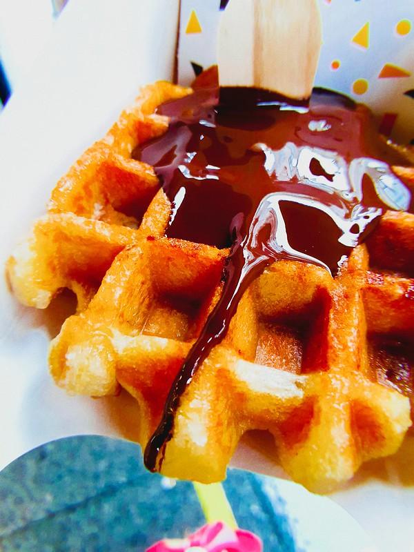 "AUSTRALIAN ""Homemade Ice Cream and Waffles"""