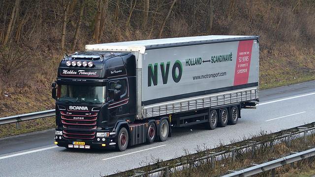NL - Scania R Streamline V8 Topline - Makken Transport