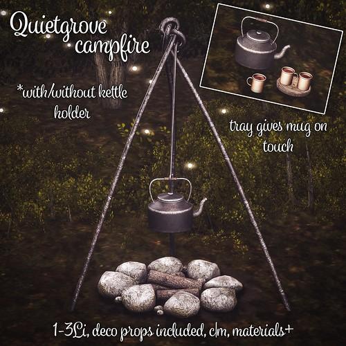 Quietgrove campfire set