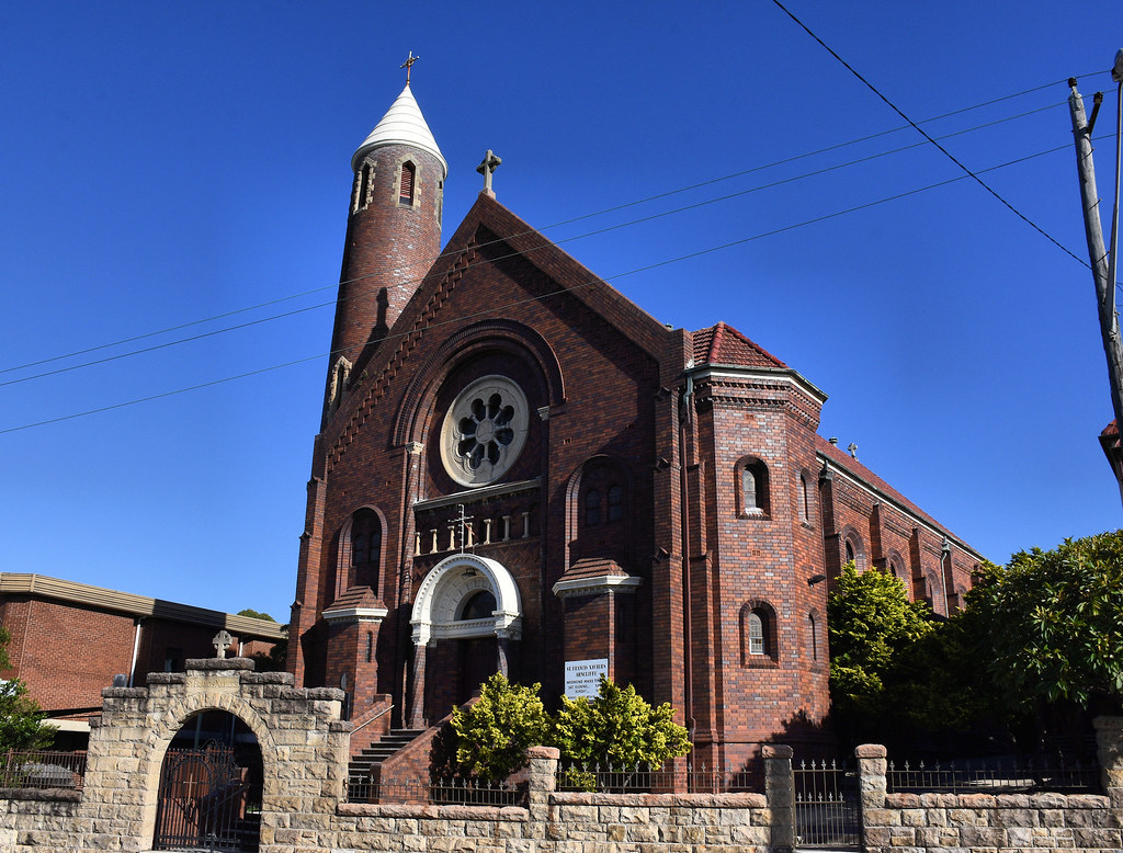 St. Francis Xavier's Catholic Church, Arncliffe, Sydney, NSW.
