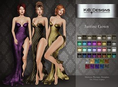 KiB Designs - Jantine Gown @Pretty