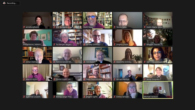 Participants in the Porvoo Communion Theological Conference, 'A Vision for Communion'.