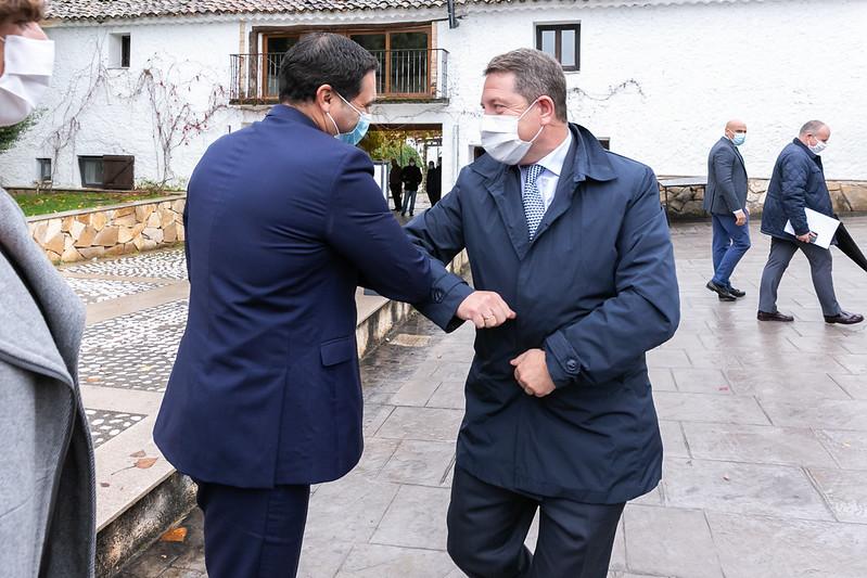 """Clausura del encuentro empresarial """"Hacia una recuperación económica en España y en Europa"""" en Cuenca"""