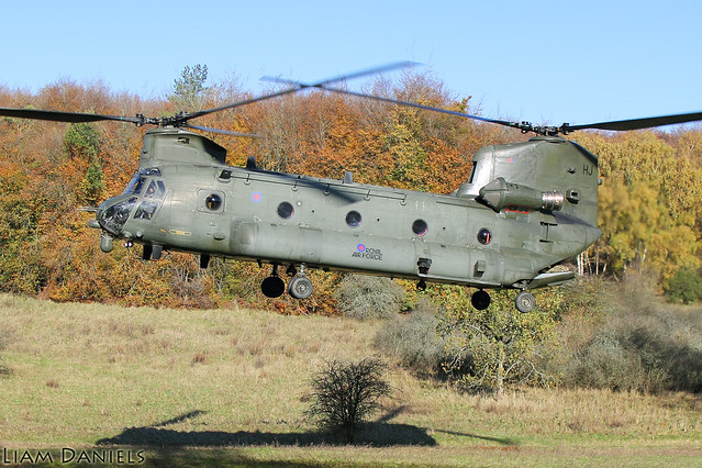 Boeing Chinook HC6A - ZH895 - Royal Air Force