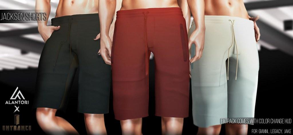 ALANTORI – Jackson Shorts