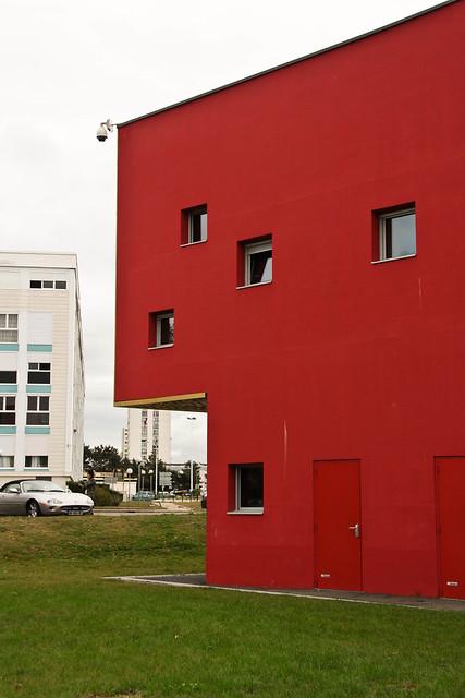 Cube rouge (arrière)