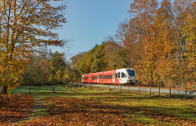 Arriva GTW 2/8 375 Clemens Cornielje. Stille Wald Wehl