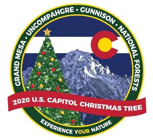 U.S. Capitol Christmas tree 2020 logo