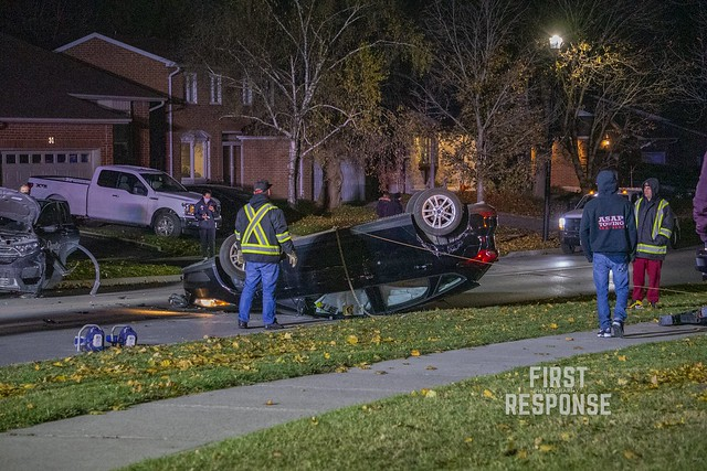 Single Vehicle Rollover - Newmarket