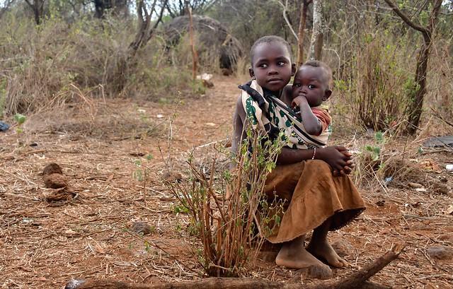 Kenya- Pokot village