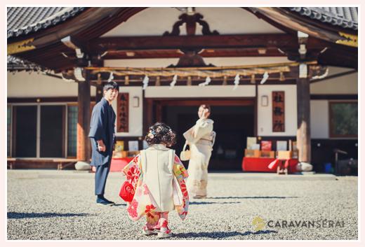 愛知県刈谷市の市原稲荷神社で七五三 ご祈祷は予約して 平日が混雑しないからオススメ