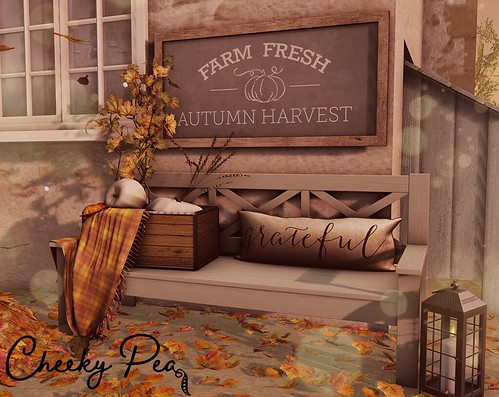 Group Gift: Autumn Harvest Crate Bench