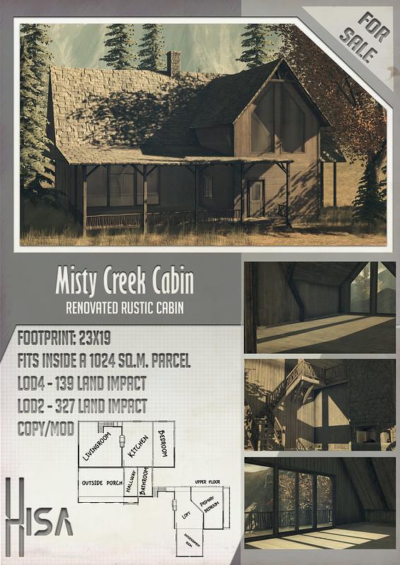HISA - Misty Creek Cabin