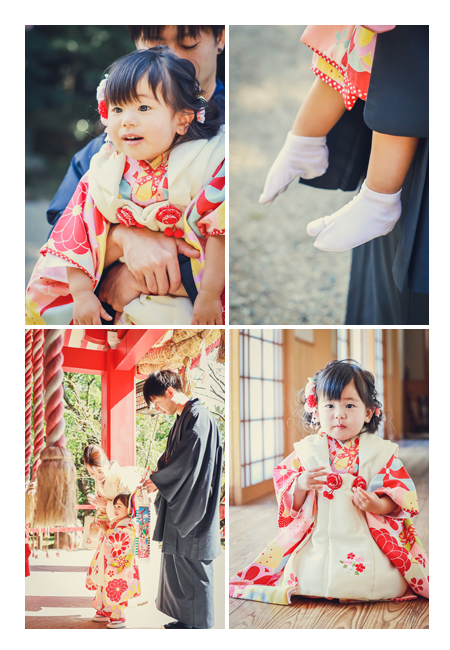愛知県刈谷市の市原稲荷神社で七五三 出張撮影
