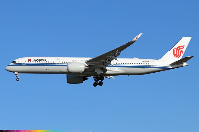 B-1083  -  Airbus A350-941  -  Air China  -  LHR/EGLL 4/11/20