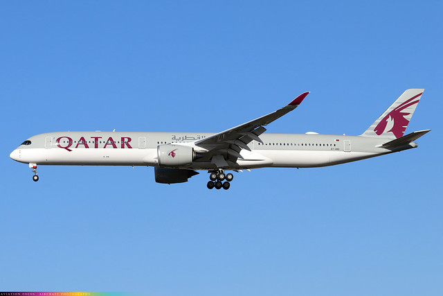 A7-ANO  -  Airbus A350-1041  -  Qatar Airways  -  LHR/EGLL 4/11/20