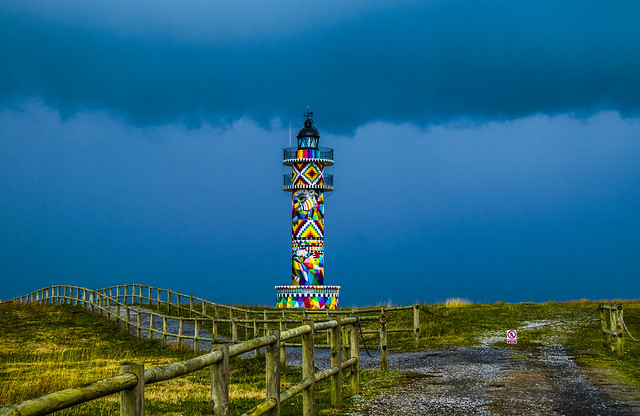 FARO__94- LIGHTHOUSE - Bareyo-Santander-Spain