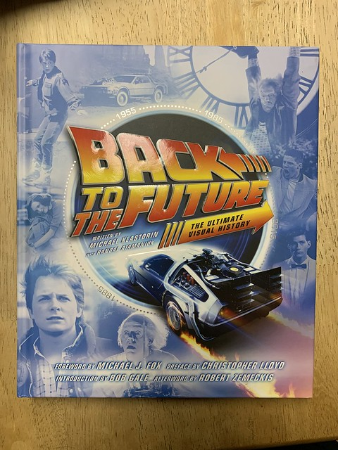 Gift to the wife for her birthday - Back To The Future - The Ultimate Visual History