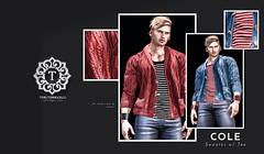 Cole Shawl Sweater w/Tee // TMD